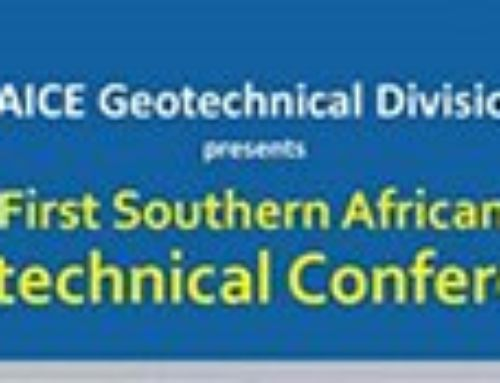 Reinforced Earth South Africa takes part to the 1st Southern African Geotechnical Conference