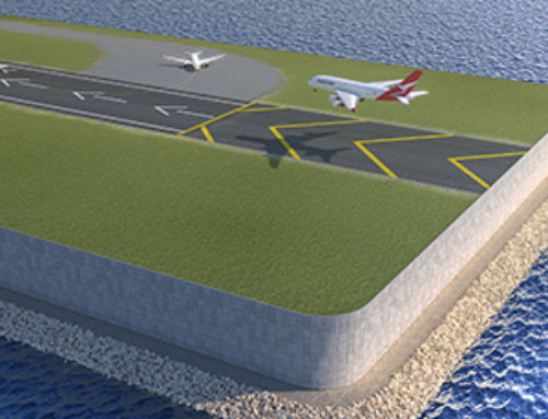 Did you know that Reinforced Earth® retaining walls are an excellent solution for runways extension?