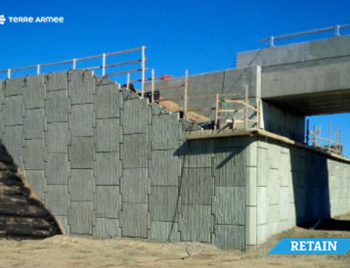 Canada: Reinforced Earth walls on the Victor Road interchange