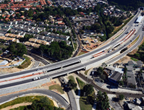 Rio de Janeiro – Reinforced Earth walls for the Transolimpica BRT Expressway