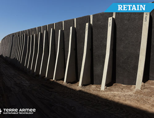 Peru: TechWall® walls for Uchumayo highway
