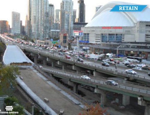 Canada – new access ramp for the Gardiner Expressway