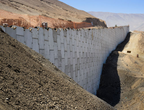 Chile: Reinforced Earth® walls for the new access road of the town of Iquique