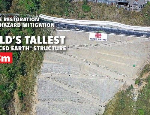 Terre Armée India builds the world's tallest Reinforced Earth® structure